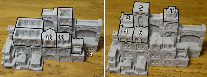 Dungeon Master Screen Building Instructions