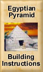 Egyptian Pyramid Building & Painting Instructions
