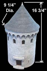 8 Quot Round Tower Building Instructions